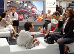 Guests at F1 Paddock Club